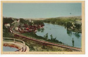 Sr Francis River , North , SHERBROOKE , Quebec , Canada , 30-40s