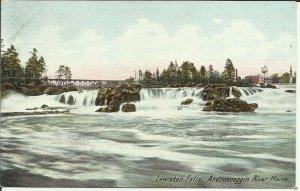 Lewiston Falls, Androscoggin River, Maine