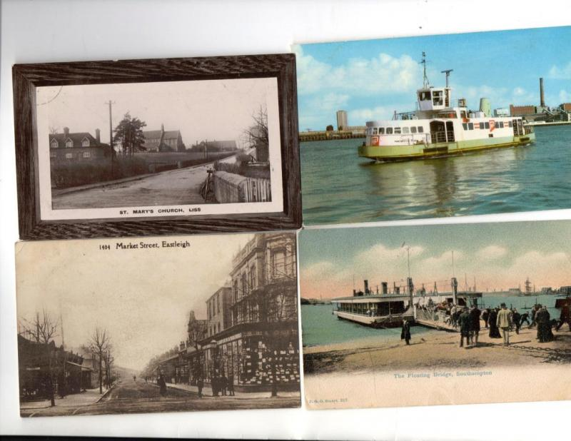 3. Eight Old Postcards of Hampshire