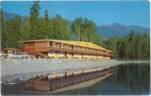 Villiage Inn Lake McDonald Glacier National Park Montana MT