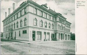 Hopkinsville KY Hotel Latham c1909 Souvenir Postcard G50 *as is