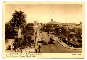 Panama - Panama City. Central Avenue Street Scene
