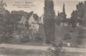 Croatia Pola Pula Brioni roman ruins