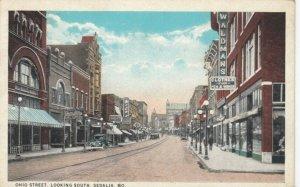 SEDALIA , Missouri, 1926 ; Ohio Street , Looking South