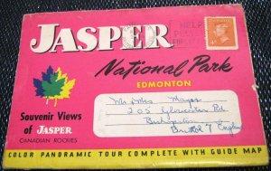 Canada Jasper National Park Edmonton Rockies - posted 1953