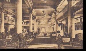 New York Utica Hotel Utica Albertype