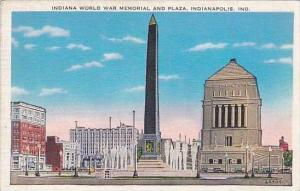 Indiana Indianapolis Indiana World War Memorial And Plaza