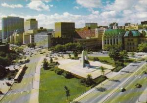 Canada Ottawa War Memorial In Confederation Square