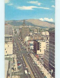 Pre-1980 STREET SCENE Salt Lake City Utah UT W1331