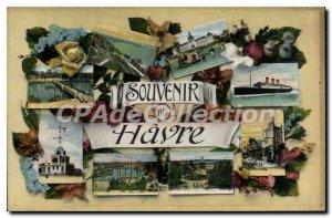 Old Postcard Remembrance Havre