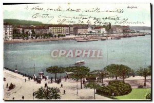 Old Postcard Geneva