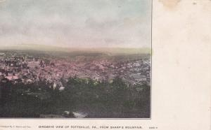 POTTSVILLE , Pennsylvania, 1901-07 ; Birdseye View