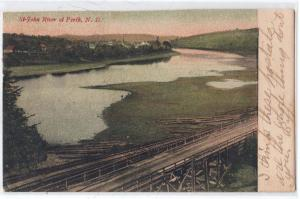 St John River, Perth NB