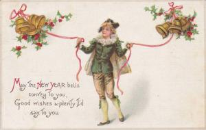 May the New Year bells convey to you, Good wishes a-plenty I'd say To you, Yo...