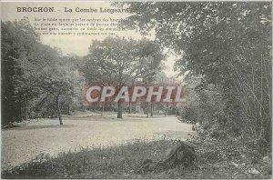 Postcard Old Brochon La Combe Liegeard