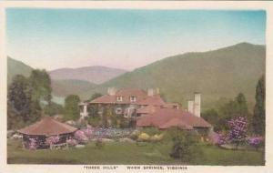 Virginia Warm Springs  Three Hills  Albertype