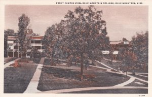 BLUE MOUNTAIN , Mississippi , 1930-40s : Front Campus View