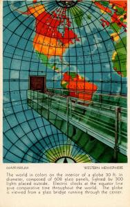 MA - Boston. Christian Science Publishing House. Mapparium