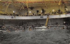 Long Beach CA~Plunge~Bath House Interior~Enjoy Life Live Longer~1920 Census~PC