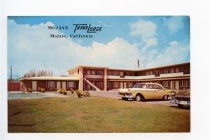 Mojave CA Motel Old Cars Postcard