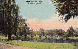 COLUMBUS, Ohio, 1900-1910s; Franklin Park Lagoon