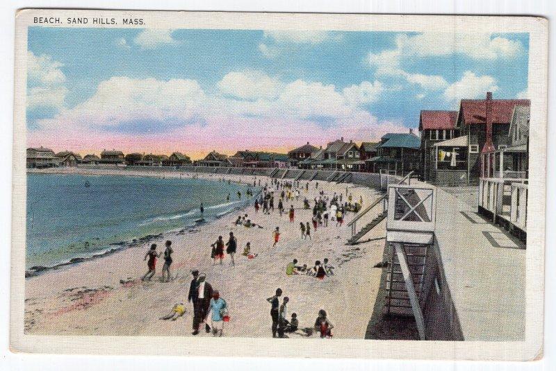 Sand Hills, Mass, Beach