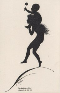 DIEFENBACH : Fantasy Silhouette , 00-10s ; Jugend II Bl.25