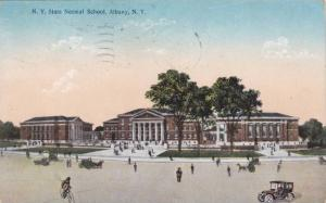 Exterior, State Normal School, Albany, New York, PU-1910