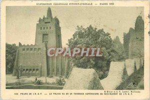 Old Postcard International Colonial Exposition Paris 1931 Pali AOF