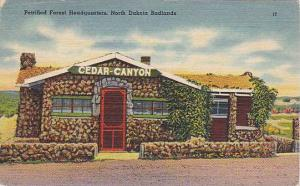 Petrified Forest Headquarters, Cedar Canyon, Badlands, North Dakota,  30-40s