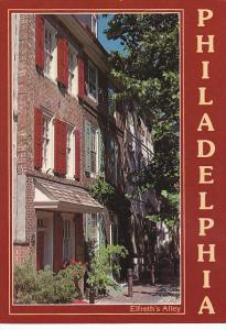 Pennsylvania Philadelphia Elfreth's Alley