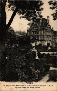 CPA PARIS (1e) Le Jardin des Tuileries et le Pavillon de Rohan (564519)