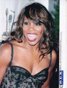 Serena Williams Tennis Cipriani Live Wall Street Concert 2005 Press Photo