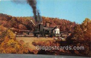 Modern Coal Mine Tipple Fayette County, WV, USA Unused