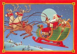 Modern Card Santa Claus 1983