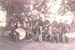 Postcard, American Civil War Band of the 8th New York State Militia 1861 L91