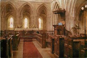 Herefordshire UK~Dore Abbey Interior~The Presbytery 1950