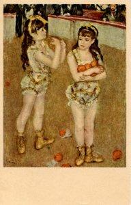 Two Little Circus Girls   Artist: Renoir