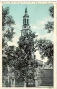 Jessie Preston Draper Memorial, Brea College, Brea, Kentucky,PU 1951