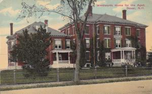 Wentworth Home For The Aged, Dover, New Hampshire 1900-1910s