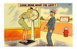 Humor - Look Dear-- what I've lost!