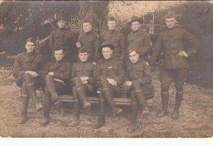 P1824 old military unit, looks like a photo postcard?