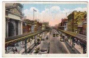 Bowery, New York City