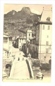 Pont Et Place Saint-Pierre, Moutiers (Savoie), France, 1900-1910s