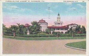 Florida Saint Petersburg Florida Military Academy The Sunshine City 1936