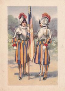 Citta Del Vaticano, Guardia Svizzera, Portabandiera, ITALY, 1910-1920s