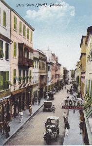 GIBRALTAR, 1900-1910's; Main Street, North, Royal Tobacconist