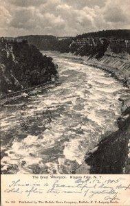 New York Niagara Falls The Great Whirlpool 1905