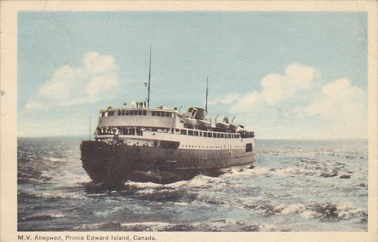 Canada M V Abegweit Ice Breaker Car Ferry Prince Edward Island