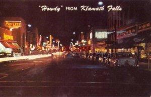 KLAMATH FALLS, OR. MAIN STREET 1960